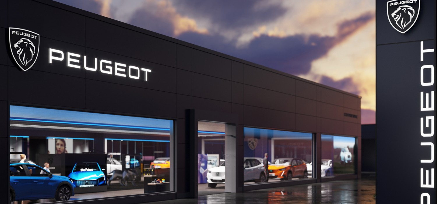 New look for Peugeot's lion