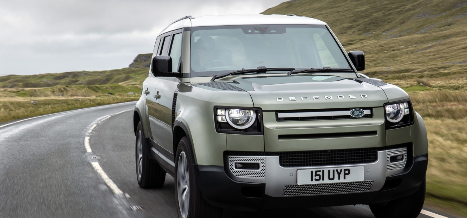 Defender plugs in for more power and economy