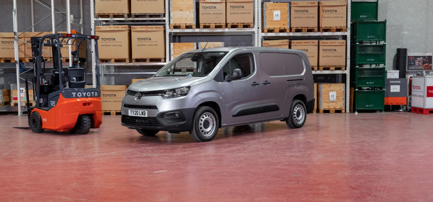 New compact van from Toyota