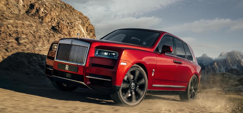 Rolls-Royce Cullinan finally revealed