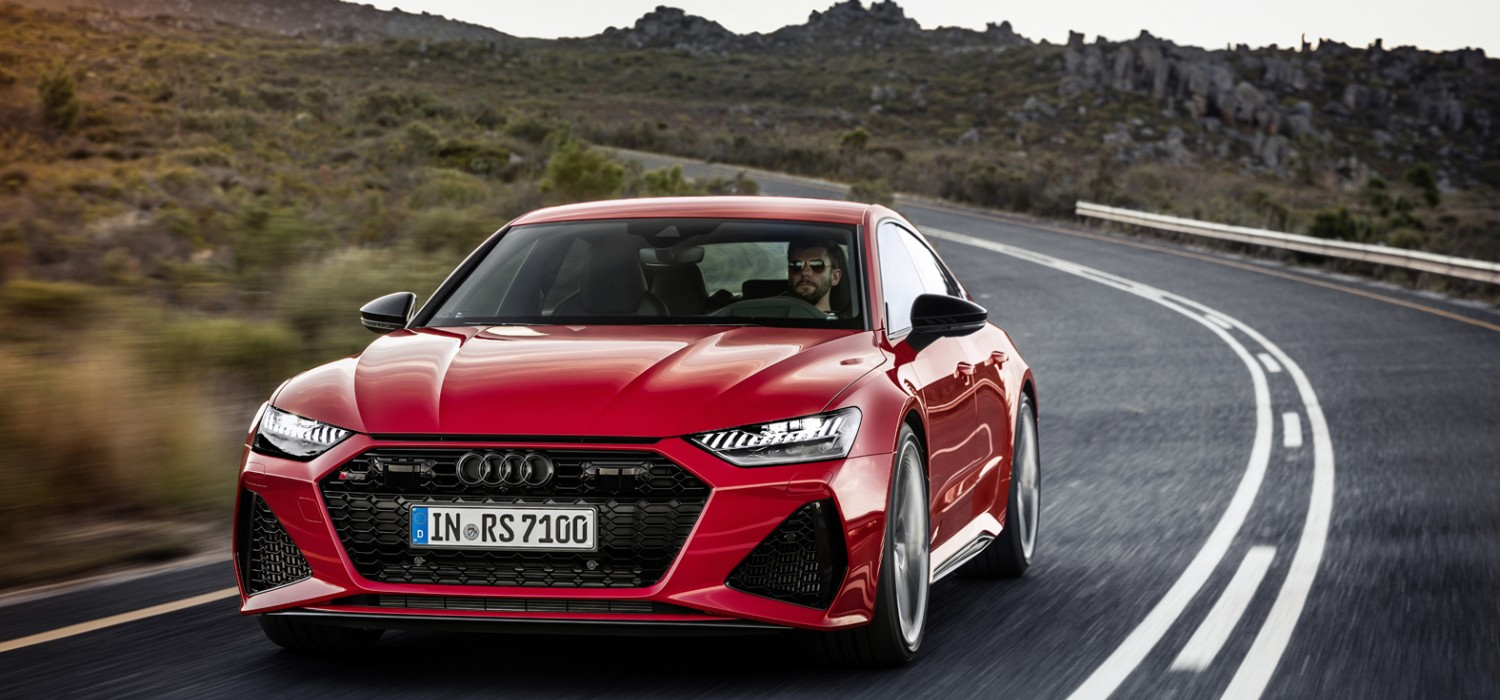 Audi unleashes more powerful RS 7 Sportback