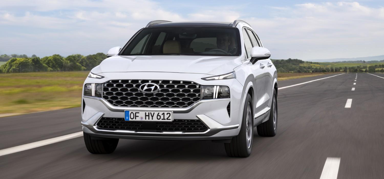 Hybrid power for new Hyundai Santa Fe