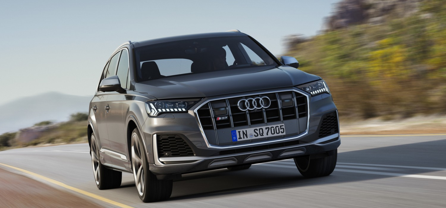Electric boost for new Audi SQ7