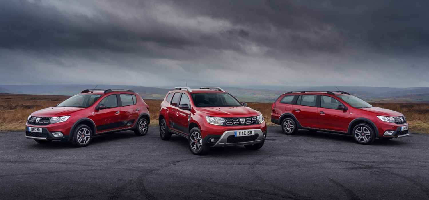 Techroad prices announced by Dacia