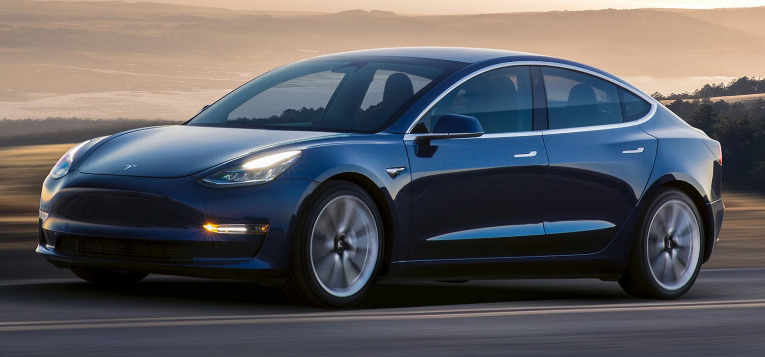 Tesla Model 3 tops Euro EV sales