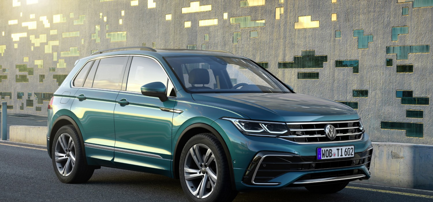 More power, new looks for VW Tiguan