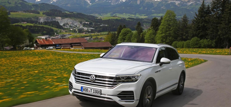 New VW Touareg a high tech feast
