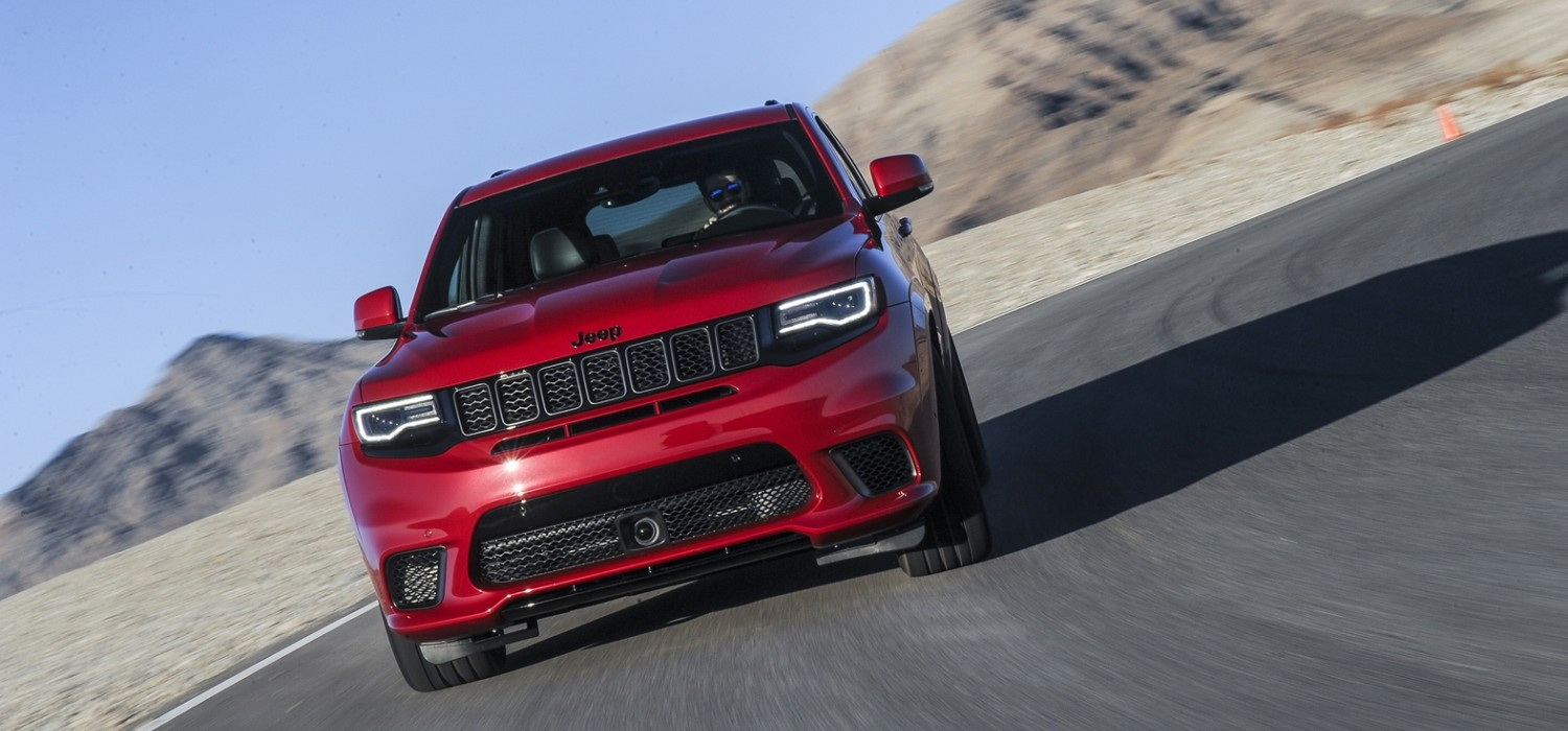 Jeep Grand Cherokee Trackhawk - the ultimate SUV