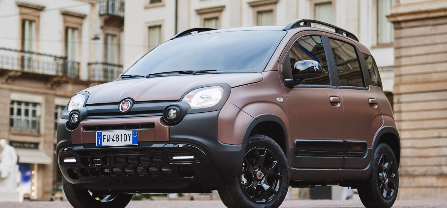 Fiat adds style with Panda Trussardi