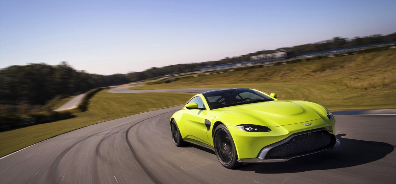 New Aston Martin Vantage for 2018