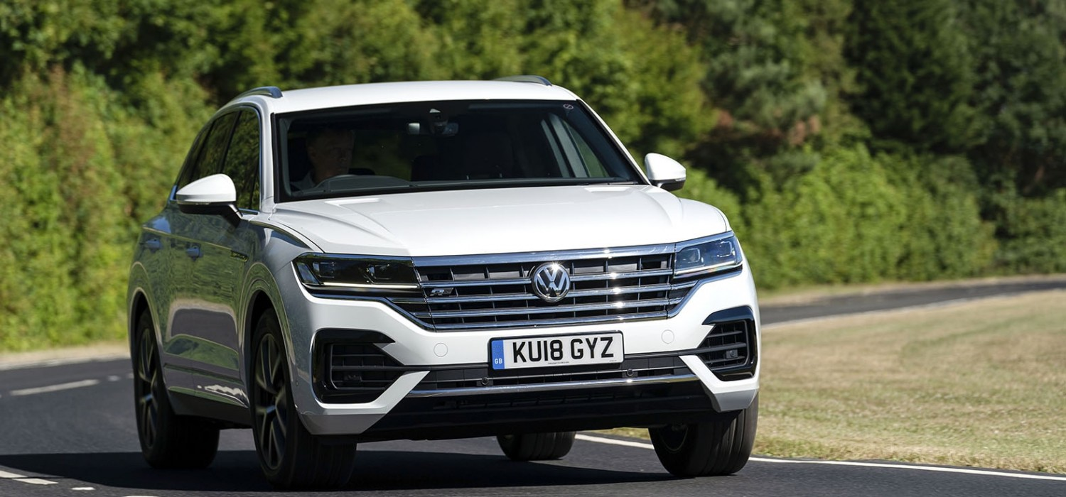 Touareg heads for top of the class