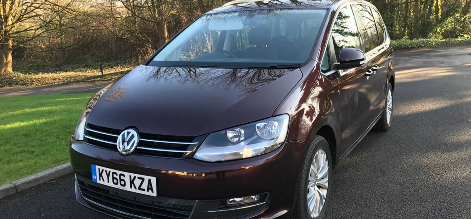 VW's full sized MPV with luxury