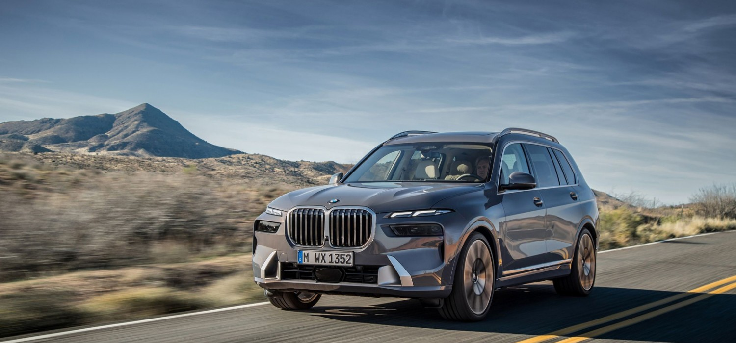 X7 is BMW's new flagship SUV