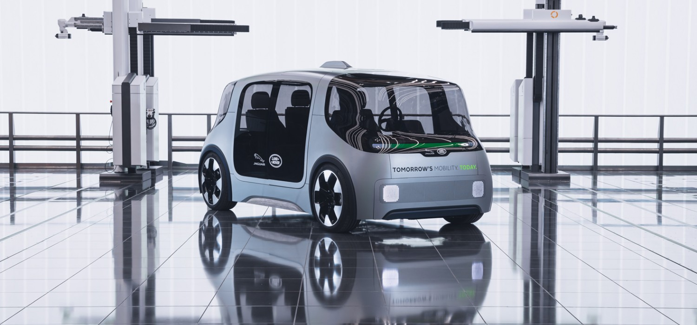 JLR reveals 'destination zero' vehicle