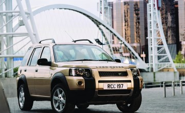 Freelander easy on road and off