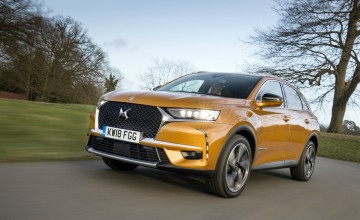 DS 7 Crossback to light up the gloom