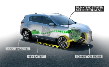 Kia to offer 48-volt hybrid engines