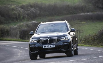 BMW shows its rubber soul