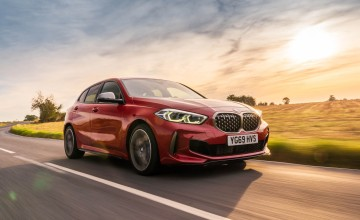 New BMW 1 Series ready for lift off