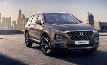 New generation Santa Fe revealed