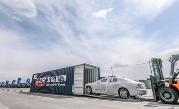 Volvo's express deliveries from China