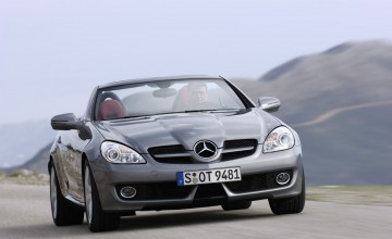 Mercedes SLK fast and comfortable