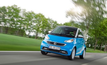 smart fortwo coupe passion iceshine