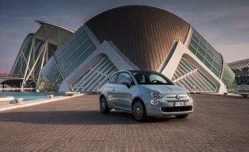 Hybrid power for Fiat 500 and Panda