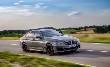 New flagship for BMW 5 Series PHEVs