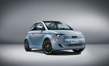 New Fiat 500 is electric