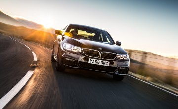 Epic journey in new BMW 5 Series