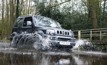 Jimny good off-road, not so good on