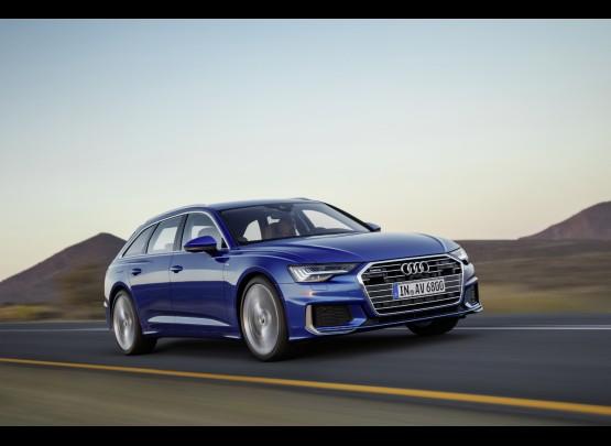 New Audi A6 Avant loads up on style