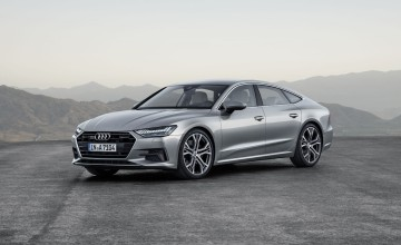 High tech Audi A7 for 2018