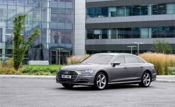 Audi A8 craves to be driven
