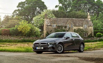 Mercedes A-Class out of this world