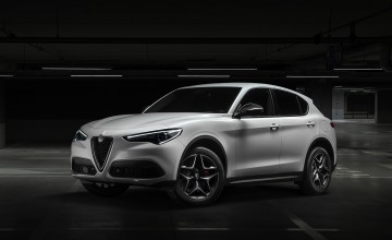 Historic badge for new flagship Stelvio