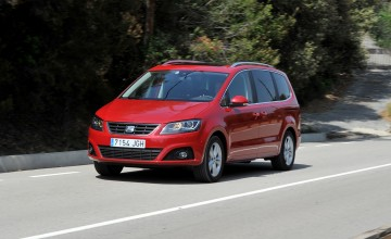 SEAT Alhambra 2015 - First Drive