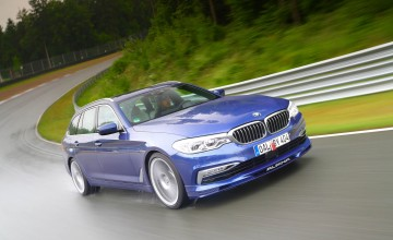 Alpina produces world's fastest estate