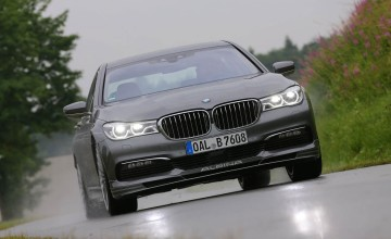 Alpina super saloon makes UK debut