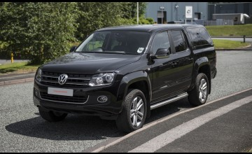 Commercial truck tops for VW Amarok