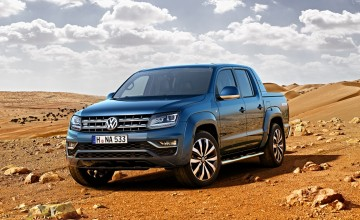 Power shot for VW Amarok