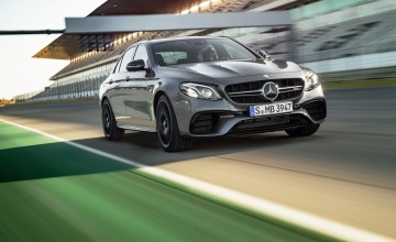 Super-fast AMG E-Class unleashed