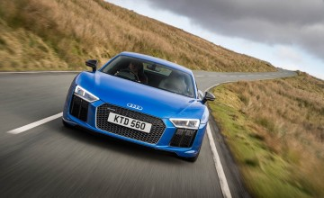 New Audi R8 Coupe - First Drive