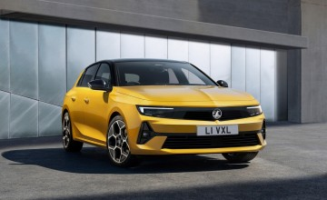 All-electric Astra revealed by Vauxhall