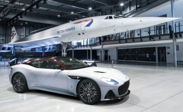 Aston's Concorde cleared for take-off