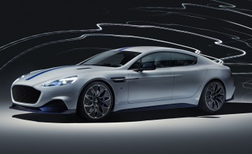 Aston Martin reveal electric Rapide