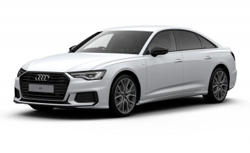 Audi goes back to Black - and white!