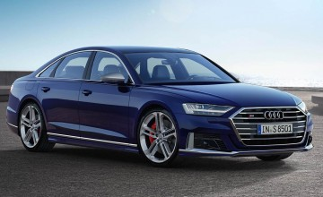Audi's sporting flagship speeds in