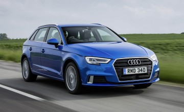 Audi A3 Sportback makes a connection
